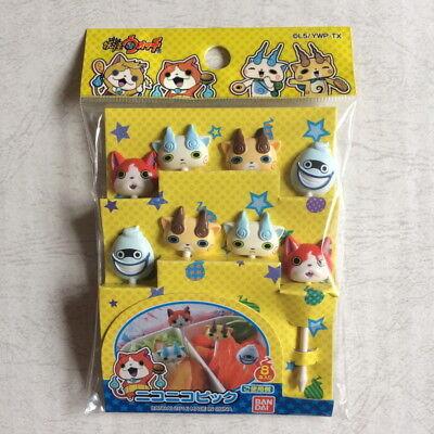 - Yo-kai watch cute lunch box smiling pick set Kawaii BENTO Accessories JAPAN