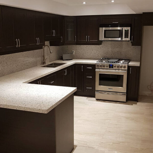 Classy Basement Apartment New Build One Bedroom Plus Open