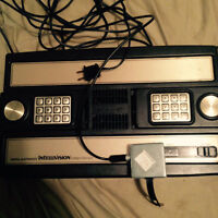 intellivision with games