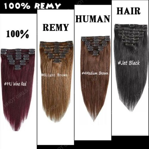 Natural remy clip in hair extensions 8 pieces full head real human 100 natural remy clip in hair extensions 8 pieces full head real human hair mx5 pmusecretfo Image collections