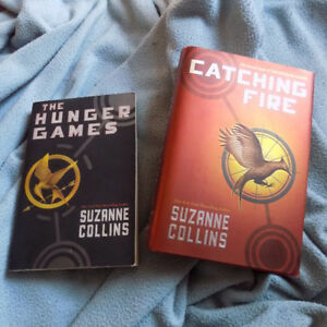 The Hunger Games and Catching Fire (hardcover)
