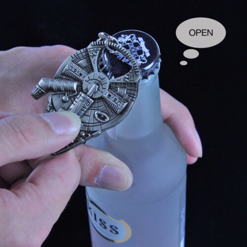 Cool Metal Spaceship Millennium Falcon Bottle Beer Opener Gift Bar Tool