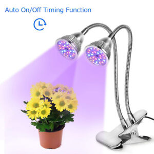 LED Plant Light, 10W Auto ON/OFF Latest Timing Function Full Spe