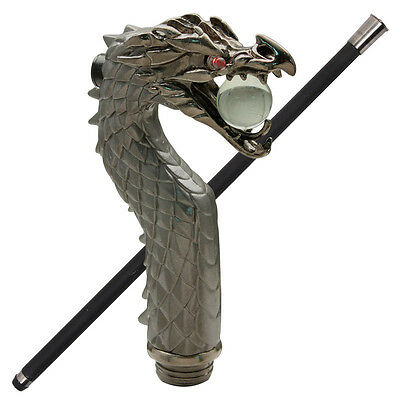 Japanese Ryu Dragon Light Up Decorative Walking Cane Stick