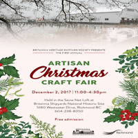 FREE - Artisan Christmas Craft Fair