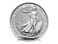 2017 1oz Silver Britannia coins