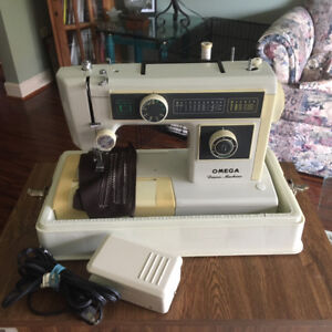 "Omega ""Denim"" Sewing Machine and Stand"