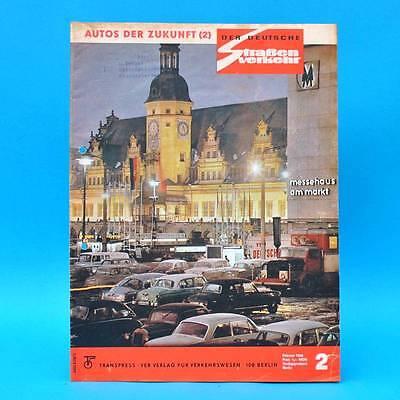 Der Deutsche Straßenverkehr 2/1966 NSU Minol Moto-Cross-WM Rallye Wartburg