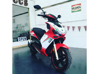 "Neco GPX 50cc ""R"" LC Moped BRAND NEW UNREGISTERED"