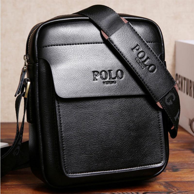 Men's Genuine Leather Handbag Briefcase Tote Laptop Shoulder