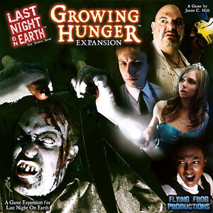 WANTED: Last Night On Earth: Growing Hunger
