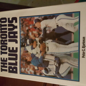The Toronto Blue Jays Hard Cover with slip cover