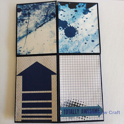 Handmade card - card in a box   Congrats Hooray Bravo   father's day card