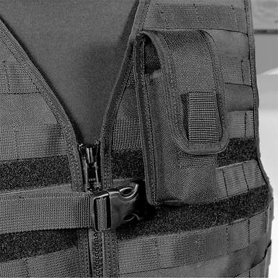 Protec black MOLLE modular torch and multi-tool pouch