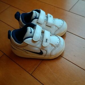 Leather Nike Running Shoes in size 5