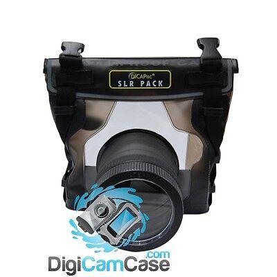 DiCAPac WP-S10 Unterwasssergehäuse Spiegelreflex SLR DSLR für Nikon D 800 uvm