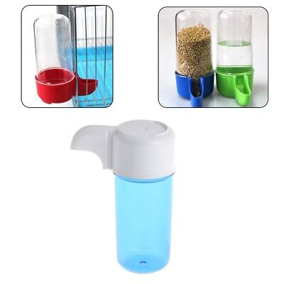 Bird Plastic Feeder Food Water Storage Parrot Cage Pet Drink Container Automatic