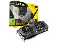 2x Zotac GTX 1080 amp edition (£540 each)