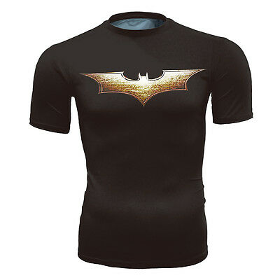 Batman Symbol T-Shirt [DC comics vs costume fitted unique superhero fresh]](Unused Superhero Costumes)