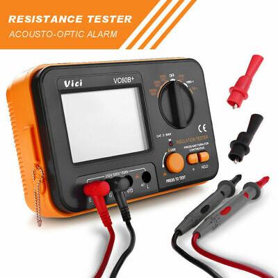 New Vc60b Digital Insulation Tester Megger Megohm Meter