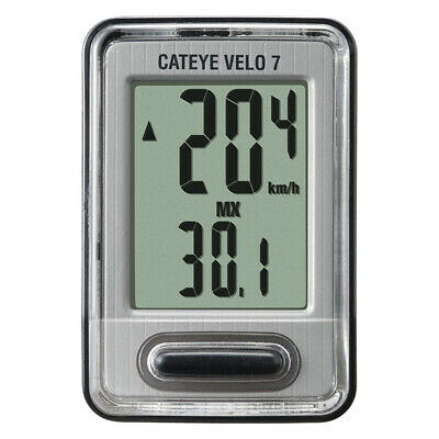 Bicycle Computer Cateye CC-VL520 Velo-7 Wired Black