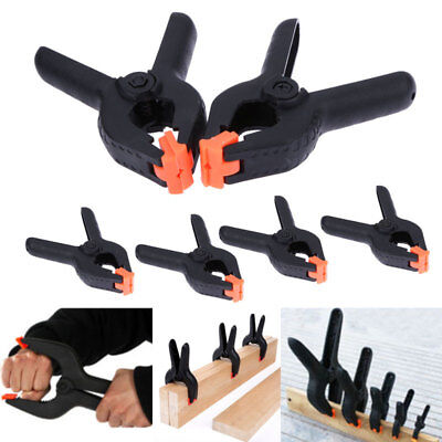 Spring Clamp DIY Adjustable Home Tool Plastic Spring Clip Working Clamp Joiner