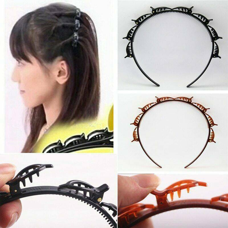 Double Bangs Hairstyle Hairpin Hair Accessories 2020 New