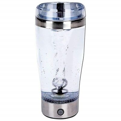 New Tornado 18 Oz Portable Drink Mixer Mug Battery Shake Protein Shaker Blender