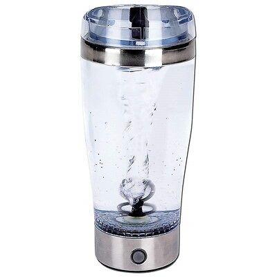 New Tornado 18 Oz Portable Drink Mixer Mug Battery Shake Protein Shaker Blender