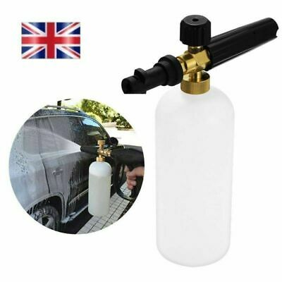 UK 1L Pressure Washer Snow Foam Gun Car Wash Water Bottle Lance - Karcher K2-K4