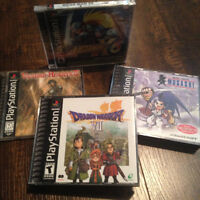 Jeux PS1, Lunar, Suikoden 2, Azure Dream, DW8, Vandal Hearts