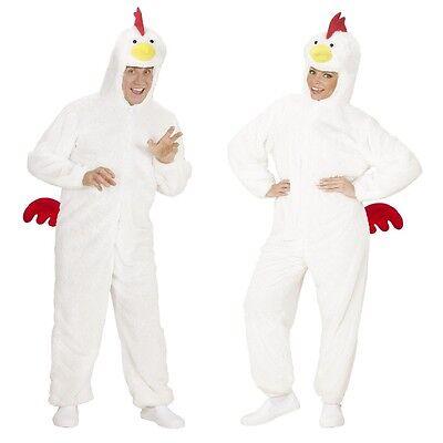 HUHN KOSTÜM Unisex M bis 165 cm Hühnchen Plüsch Tierkostüm Ostern - Oster Kostüm