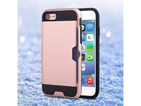 iPhone 7 and 7 plus cover hard case with credit card holder £10