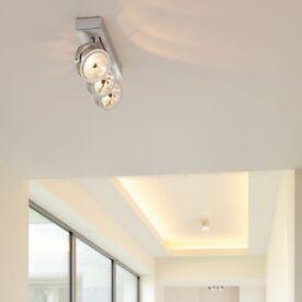Kalu Spotlights - Kalu 3 Light - Brushed Aluminium