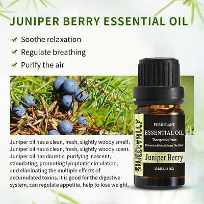 Juniper Berry Essential Oil Woody Distinctive Fragrances Therapy Aroma Treatment - $8.29