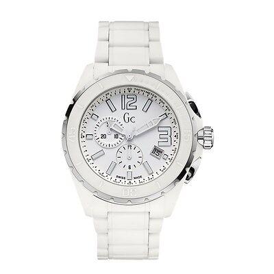 Guess Collection XXL Phantom White Ceramic Timepiece X76012G1S ()
