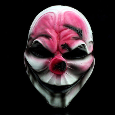 Crazy Genie Payday 2 Mask The Heist Hoxton Resin Mask Cosplay Collect Halloween](Payday 2 Halloween Heist)