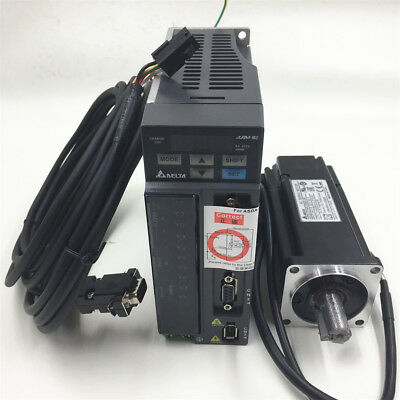 400w New Delta Servo Motor Drive Cnc Kit 1.27nm Ecma-c20604rsasd-b2-0421-b