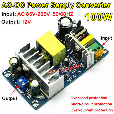 Isolated Switching Ac-dc 110v 220v To 12v 6a 8a Buck Down Power Supply Module