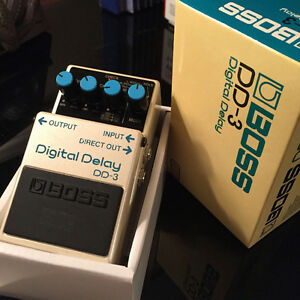 Boss Digital Delay pedal