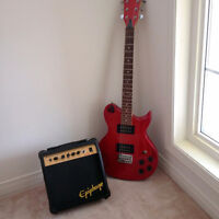 Washburn Lion Elctric Guitar and Amp
