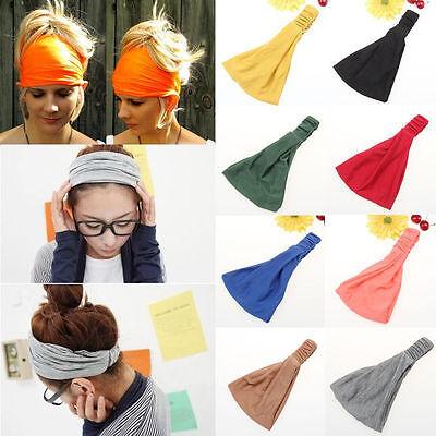 Damen Strass Haarband Stirnband Haarbänder Schweißband-Kopftuch/&Stirntuch F6B7