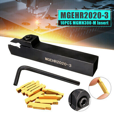 MGEHR2020-3 Lathe External Grooving Cut Borning Bar Turning Tool Holder+Wrench