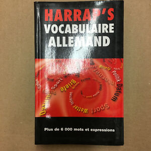 "BRAND NEW Harrap's ""Vocabulaire Allemand"""