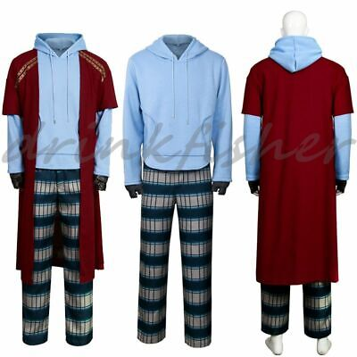 Thor Costume Hoodie (Avengers 4 Endgame Fat Thor Cosplay Costume Outfit Pants Hoodie Full)