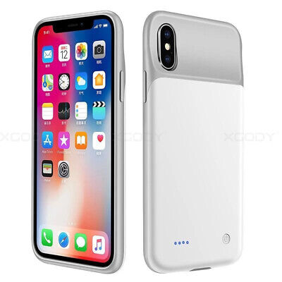 Ultra Slim Battery Charger Case Backup Power Cover For iPhone X XS XR 11 PRO MAX