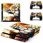 108 Sticker skin wrap ps4 stickers playstation 4 + 2x contro