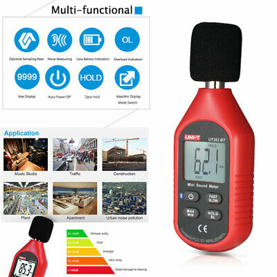 Mini Digital Sound Level Meter Uni-t Ut353 Noise Decibel Tester 30-130db Measure