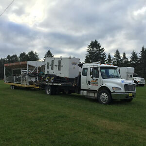 Light Equipment Transport, Floating, towing,Cape Breton/Halifax