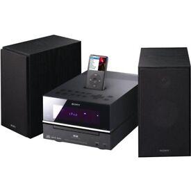SONY HiFi CD/MP3/DAB+/ AM/ FM Radio RDS, With Remote,Shelf Audio System